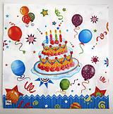 Papier - Servítka- torta - 7242271_