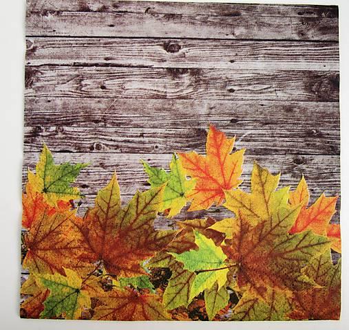 Servítka- jesenné listy