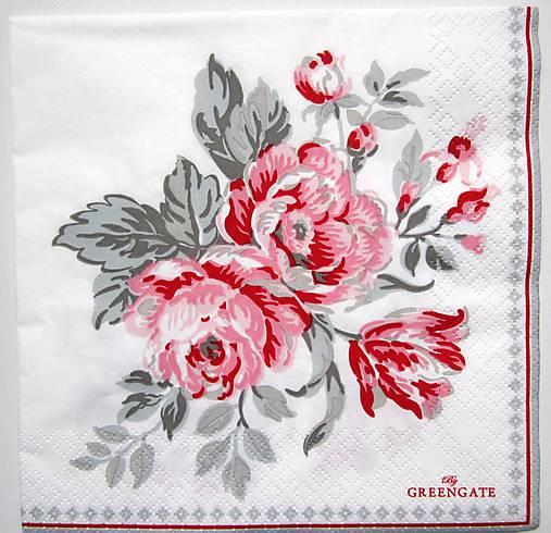 Servítka GG18-Shirley white L