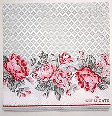 Papier - Servítka GG46- Shirley white S - 7245822_