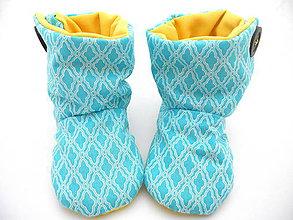 Topánočky - Teplé papučky - 7244372_