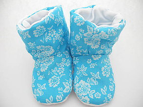 Topánočky - Teplé papučky - 7244397_