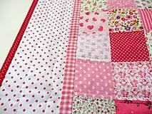 Textil - Súprava v ružovom - 7245539_