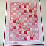 Textil - Súprava v ružovom - 7245540_