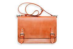 Veľké tašky - Eggo aktovka Benedict Large oranžová - 7245170_