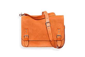 Veľké tašky - Eggo aktovka Benedict Medium oranžová - 7244798_