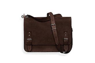 Veľké tašky - Benedict medium tmavo hnedá - 7244907_