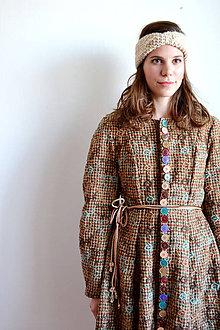 Kabáty - Gombíkový kabátik - obrovská zľava  - 7241815_