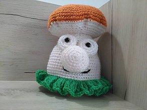 Hračky - hríbik 5 / hnedý klobúčik/ - 7245313_