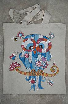 Iné tašky - Zimný soviak - 7246411_