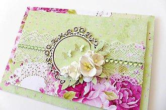 Papiernictvo - pohľadnica svadobná - 7246735_