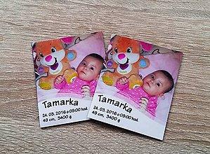 Magnetky - baby magnetka s fotografiou - 7249660_