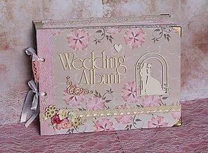 Papiernictvo - svadobný_ album na fotky - 7248374_