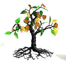 Dekorácie - Stromček - 18 cm - 7247820_