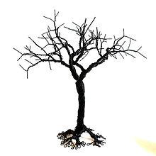 Dekorácie - Stromček - 25 cm - 7247870_