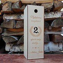 Krabičky - Krabička k výročiu svadby - 7250666_