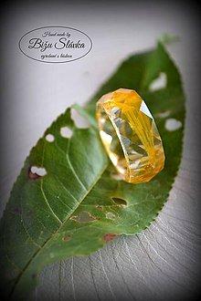 Prstene - Prsteň Žlté lupene (2050 A) - 7246852_