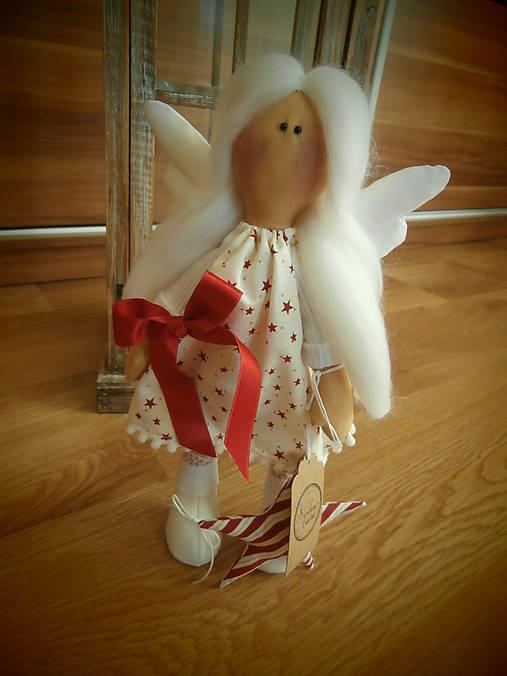 e400c432c176 Vianočný anjel   bySlavka - SAShE.sk - Handmade Bábiky