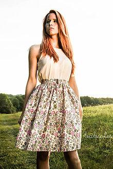 Sukne - Jupe Bouquet de Fleurs - 7250300_