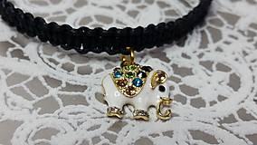Náramky - Náramok so sloníkom - 7247315_