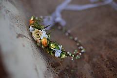 Ozdoby do vlasov - Jemný kvetinový venček