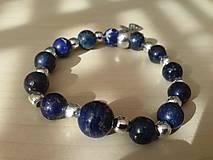 Náramky - Náramok s polodrahokamom Lapis Lazuli - 7248351_