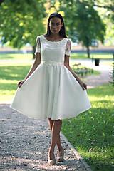 Šaty - Short Wedding Dress II. - 7247594_
