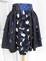 Sukne - sukňa tmavomodrá - 50% - 7248777_