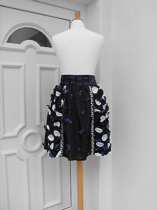 sukňa tmavomodrá - 50%