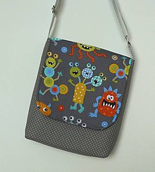 Detské tašky - Detská taška príšerková - 7249090_
