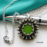 Náhrdelníky - Korálkový náhrdelník 589-0037 - 7253350_
