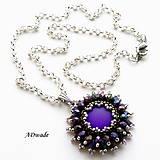 Náhrdelníky - Korálkový náhrdelník 589-0038 - 7253614_