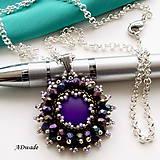 Náhrdelníky - Korálkový náhrdelník 589-0038 - 7253616_