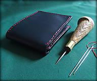 Peňaženky - Kožená peněženka - 7250870_