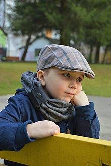 Detské súpravy - Bekovka s nákrčníkom - 7253391_