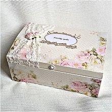 Krabičky - Svadobná truhlica - 7250924_