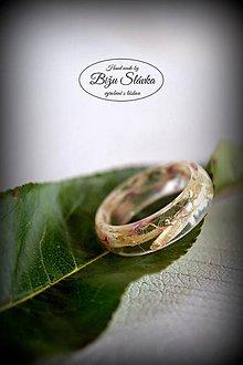 Prstene - Prsteň Gerbera svetlá (2058 A) - 7251941_
