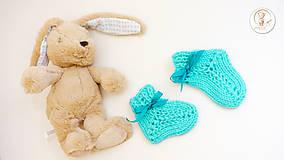 Topánočky - Detské ponožtičky - 7250942_