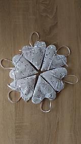Drobnosti - Srdiečko z bielej madeiry - 7253844_