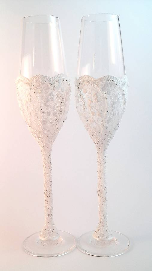 Svadobné poháre Luxus