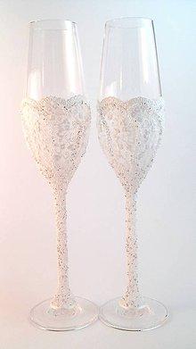 Nádoby - Svadobné poháre Luxus - 7252496_