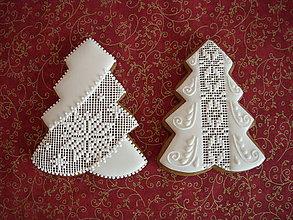 Dekorácie - medovník-vianočný stromček ll - 7257050_