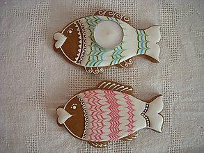 Dekorácie - medovník-vianočná ryba - 7257087_