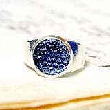 Sady šperkov - Sparkling Crystals - Cobalt Blue Se / Trblietavý set v kobaltovo modrej farbe - 7257170_
