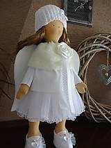 Bábiky - Biely anjel - 7255088_