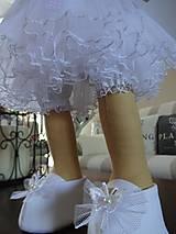 Bábiky - Biely anjel - 7255089_