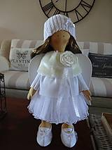 Bábiky - Biely anjel - 7255092_