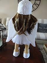 Bábiky - Biely anjel - 7255094_