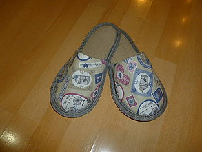 Obuv - papuče vintage 2 - 7256869_