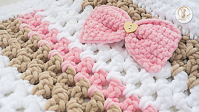 """Textil - Detská deka """"Plyšový macko"""" - 7254597_"""